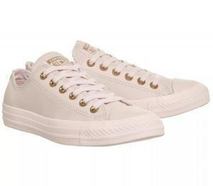 Кеды кожа Converse розовый EUR 37,5