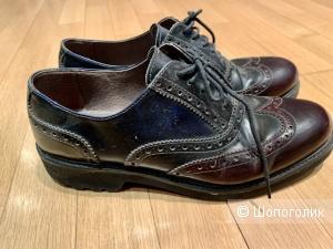 Ботинки кожаные дерби Nero Giardini 38