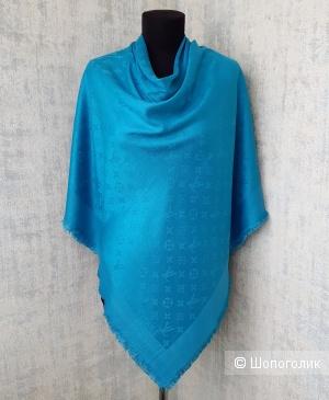Шаль Louis Vuitton (платок\палантин) бирюзовый