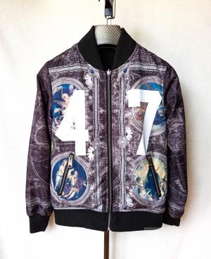 Бомбер куртка жакет двусторонняя Criminal Damage XXS-S