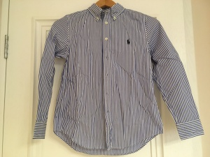 Рубашка на мальчика Ralph Lauren,10-12 размер НОВАЯ