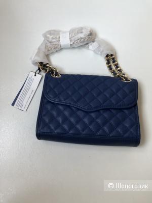 Стёганая мини-сумка Affair Rebecca Minkoff синяя (Ширина - 22 см, высота - 18 см) Москва-Химки
