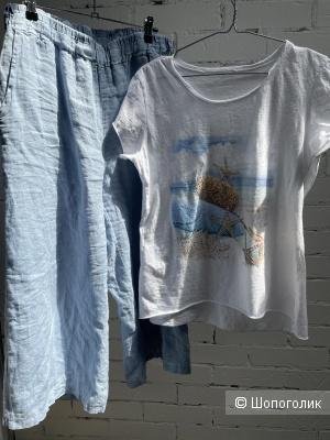 Комплект брюки кюлоты и футболка Италия, 42-50