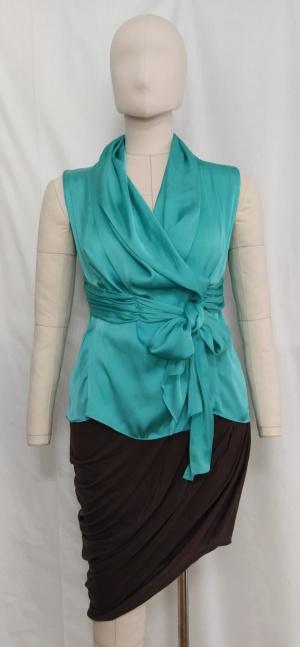 Блуза с драпировкой List, M-XL