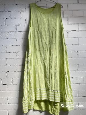 Платье сарафан COTONE LIME IYTALY, one size