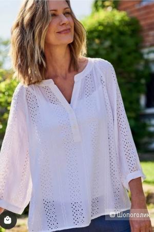 Блуза из шитья woolovers, размер 46/48
