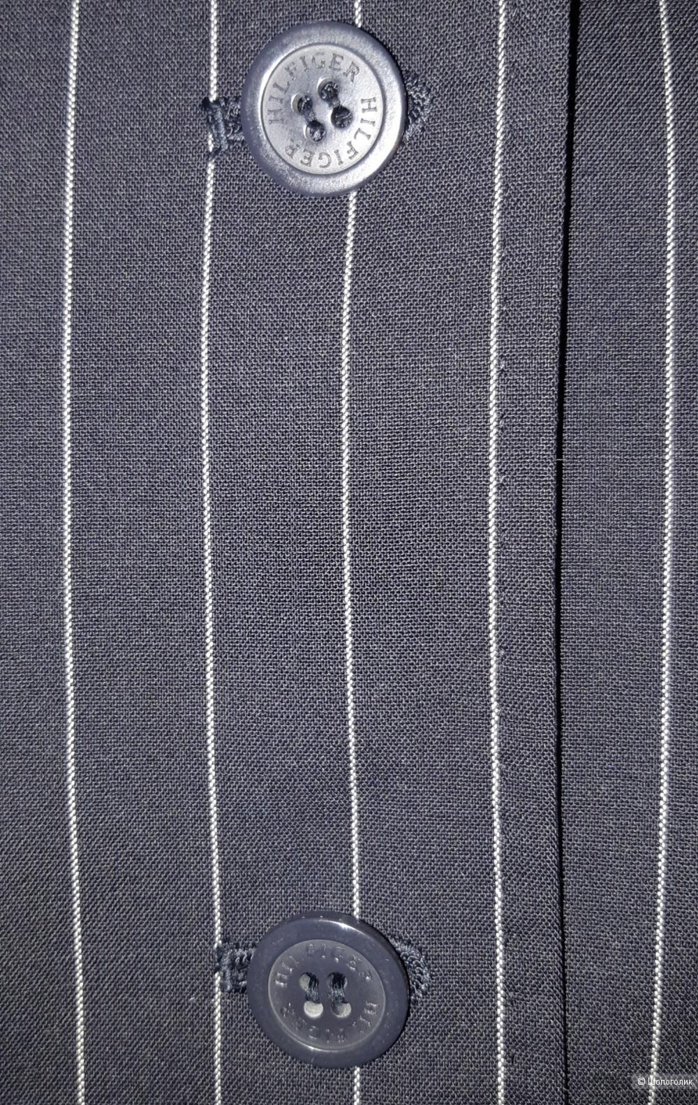 Шерстяной пиджак tommy hilfiger, размер 46