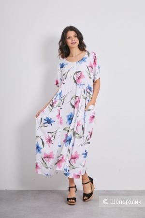 Платье штапель LOVE ITALY FIORE,one size