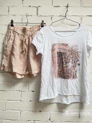 Сет футболка и шорты Love italy,42-46