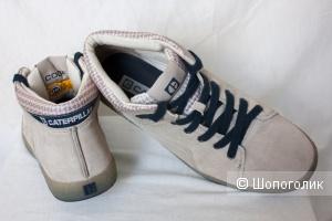 Caterpillar CAT кеды ботинки мужские замшевые, 40-40,5 Ru