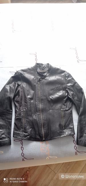 Мужская кожаная куртка Sagitta размер 48(S)