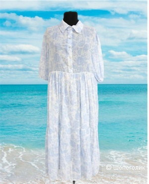Платье ярусы TOSCANA,44-52