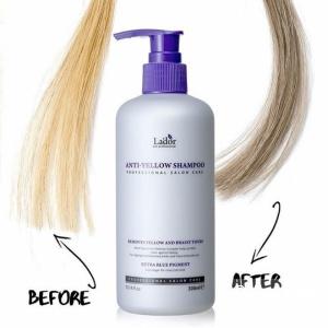 Шампунь для устранения желтизны Lador Anti-Yellow Shampoo