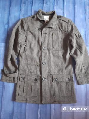 Шерстяное пальто Lee Cooper Мужское размер S ( росс. 46\48)
