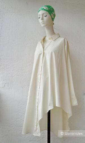 Платье рубашка COTTON M L XL