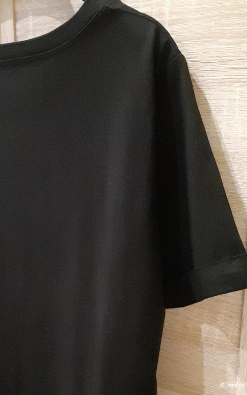 Льняное платье made in Italy, размер l