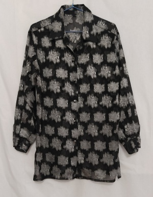 Блузка с узором,no brand, one size, XL