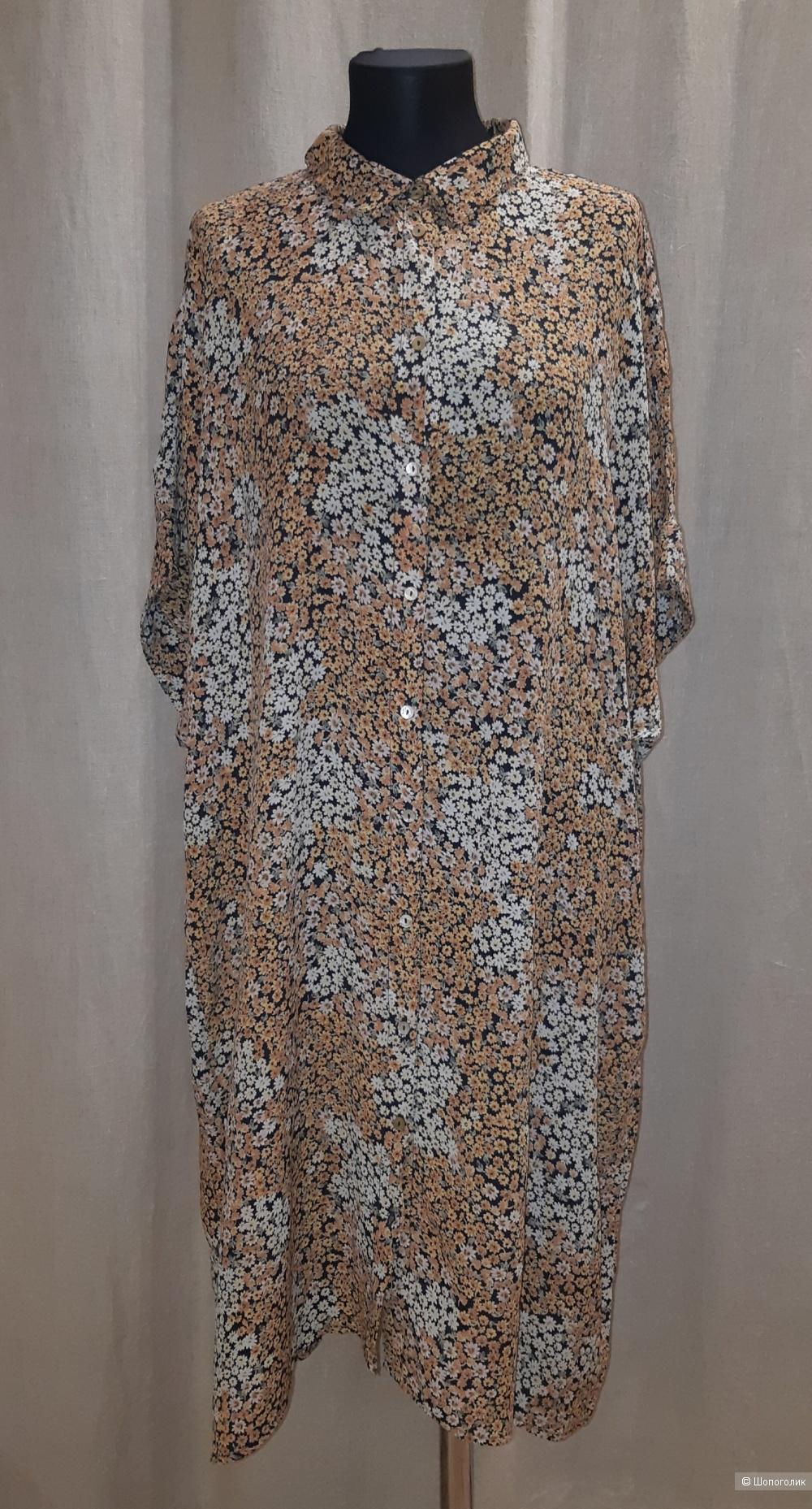 Платье-рубашка zizzi, размер l