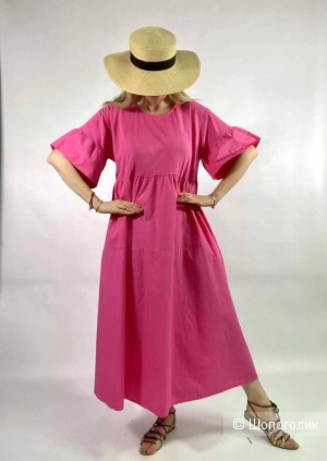 Платье комбинированное крылышки STELLA MILANI,42-50