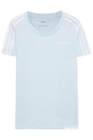 Голубая футболка Adidas, размер L