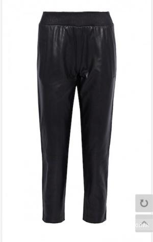 Кожаные брюки Muuba,12UK(46-48)