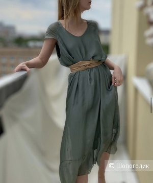 Платье шелковое SILK FARFALLE,42-48