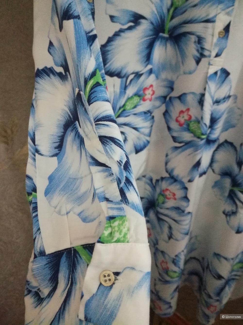 Платье-рубашка ZARA размер 40-42-44