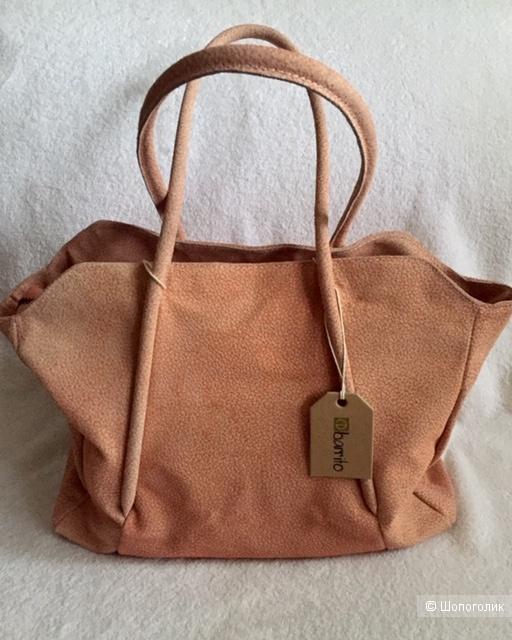 Кожаная сумка Ebarrito. Big size.