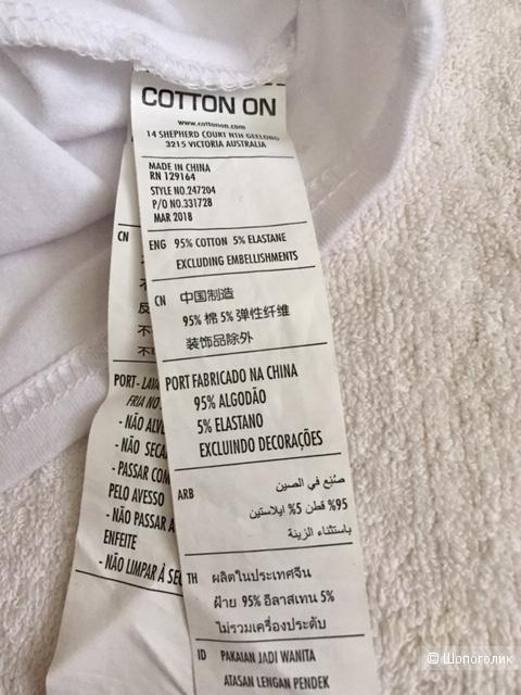 Футболка Cotton on. XS (40-42 RU)