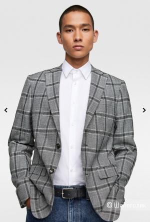Пиджак Zara маркировка 52