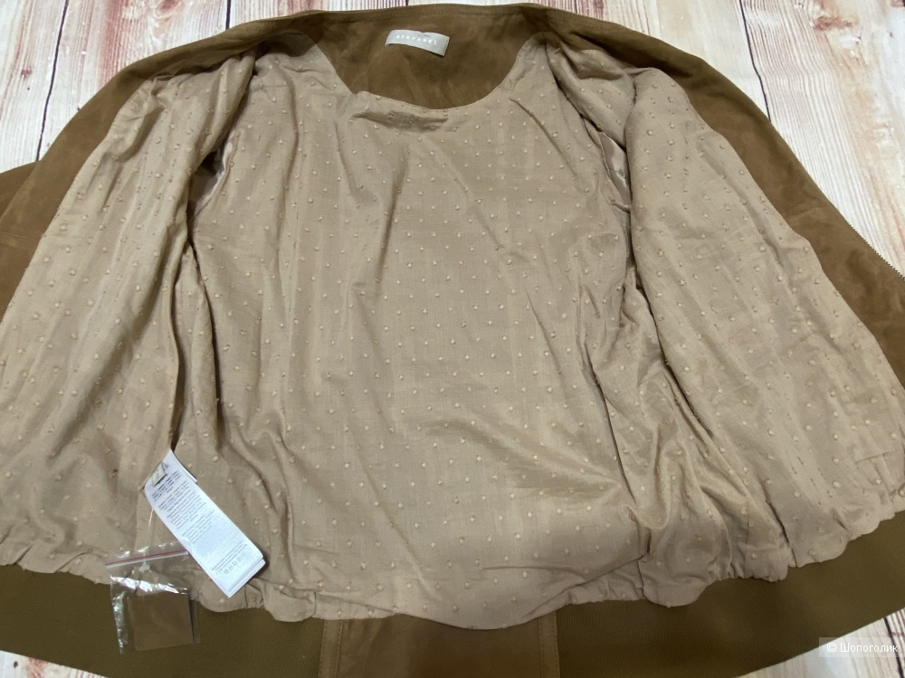 Замшевый бомбер Stefanel, размер 46-48