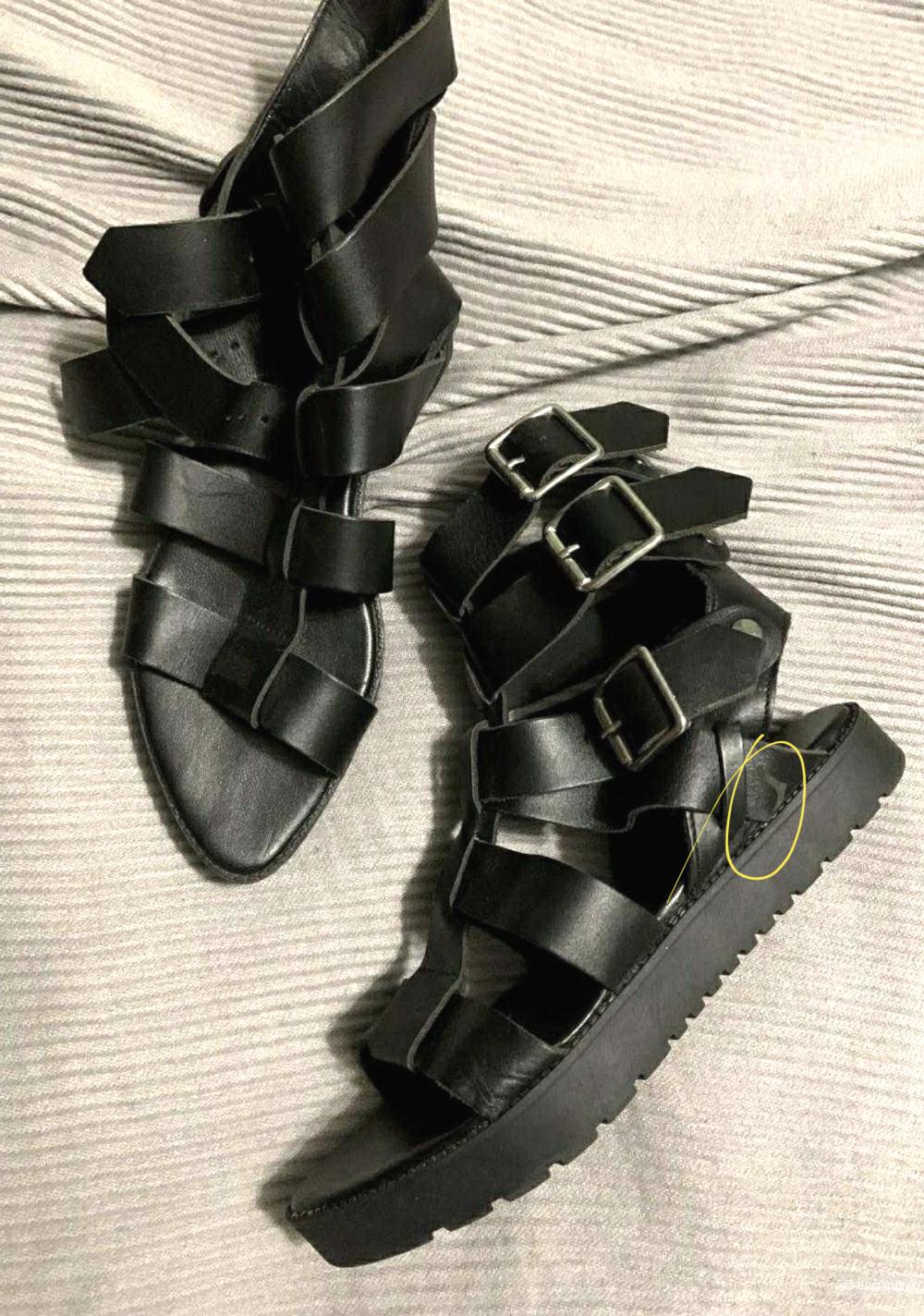 Сандалии Zara 37