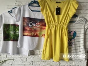 Сет платье футболки, 42-44