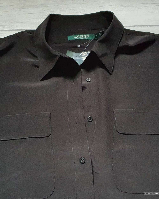 Рубашка шёлковая Ralph lauren размер XL