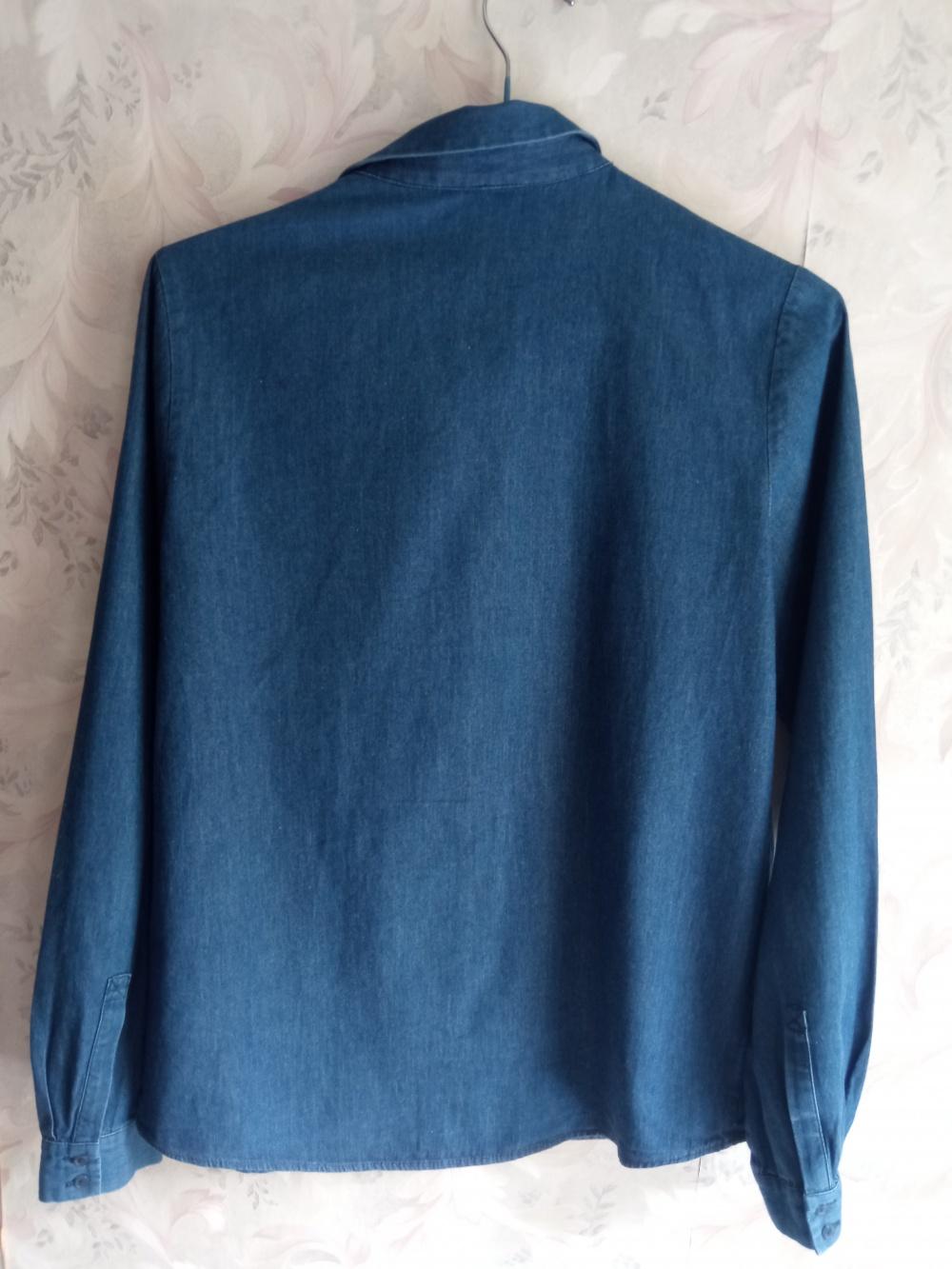 Джинсовая рубашка Cos размер 36