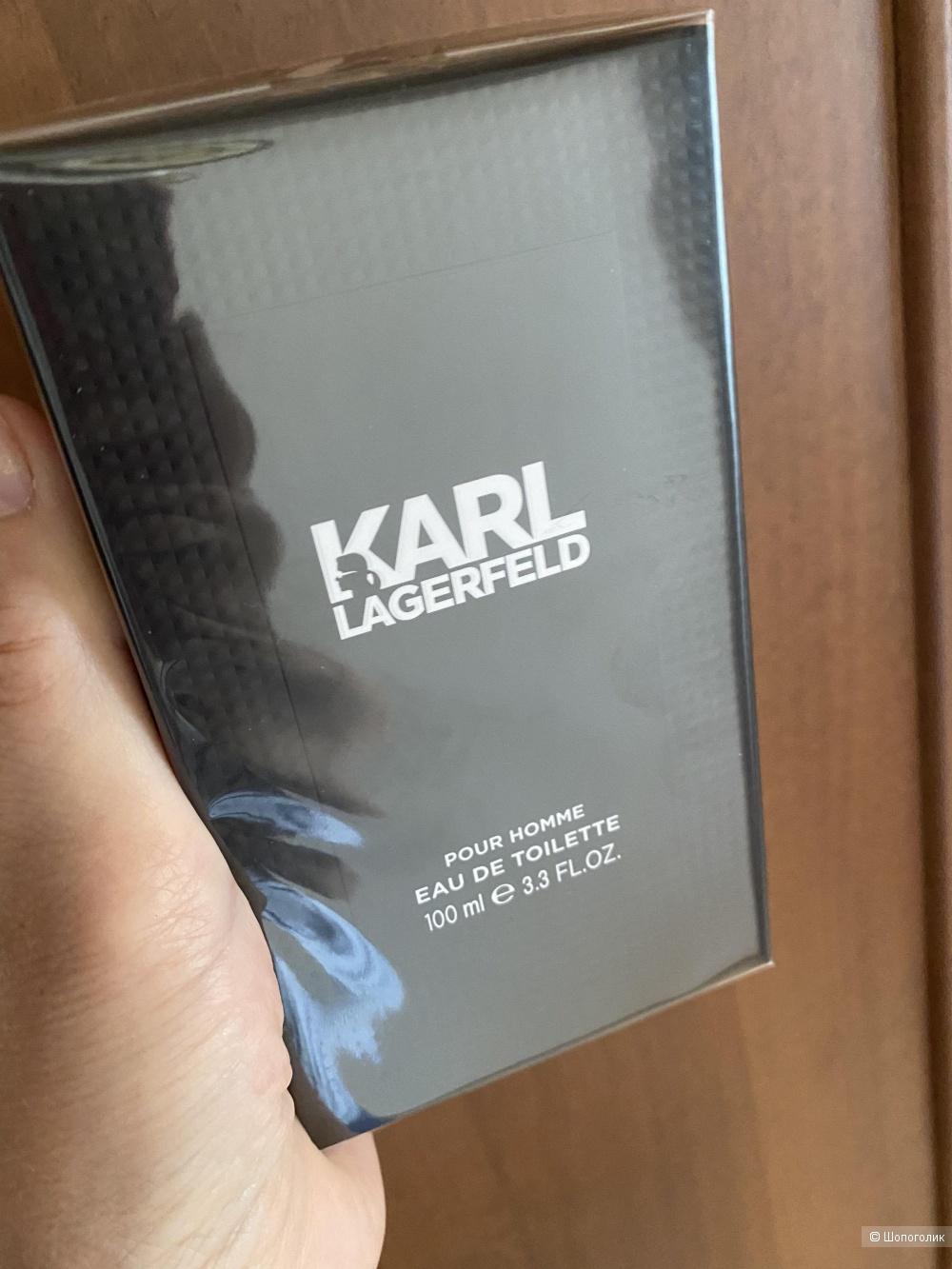 Парфюмерная вода мужская Karl Lagerfeld, 100 мл.