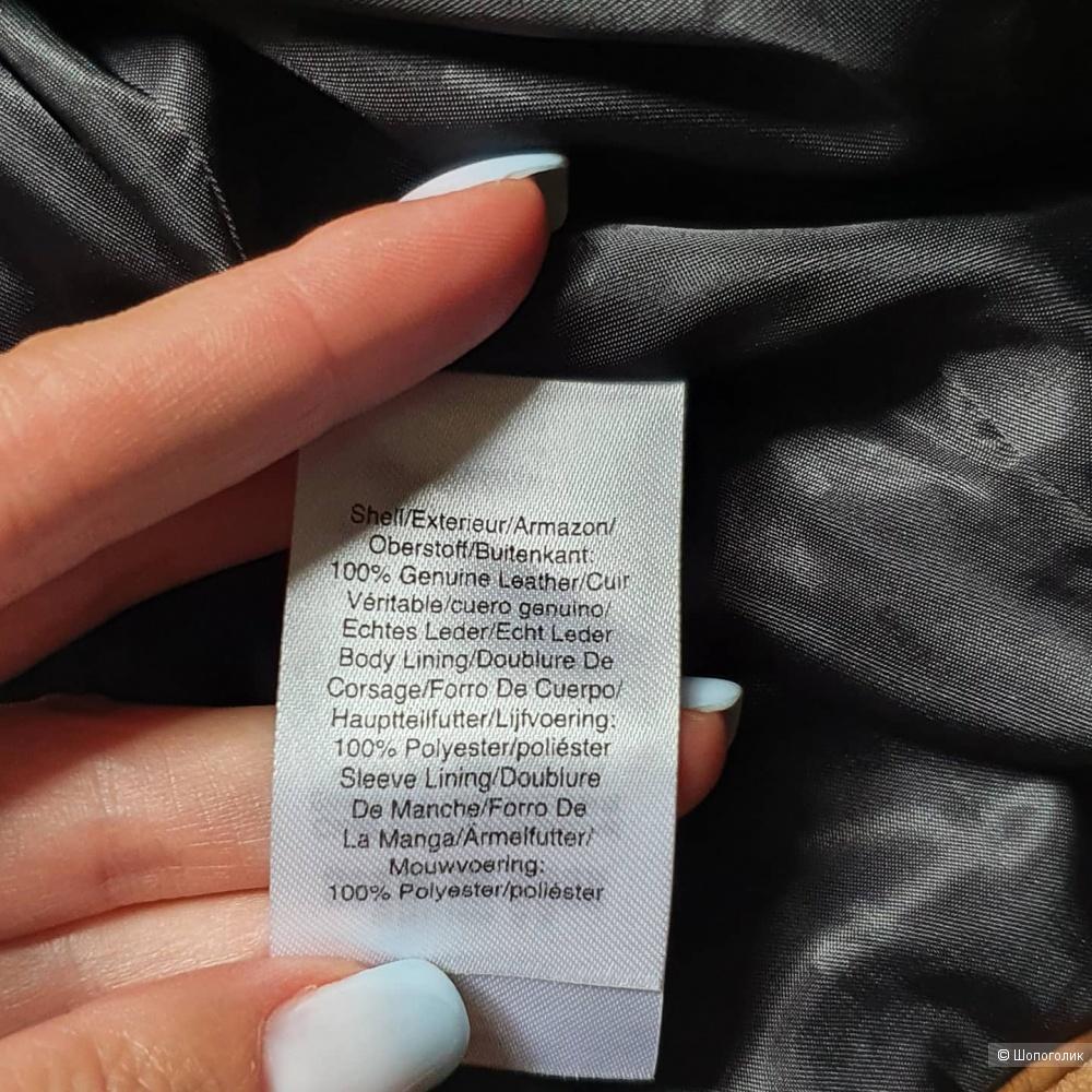 Кожаная куртка DKNY размер Xs