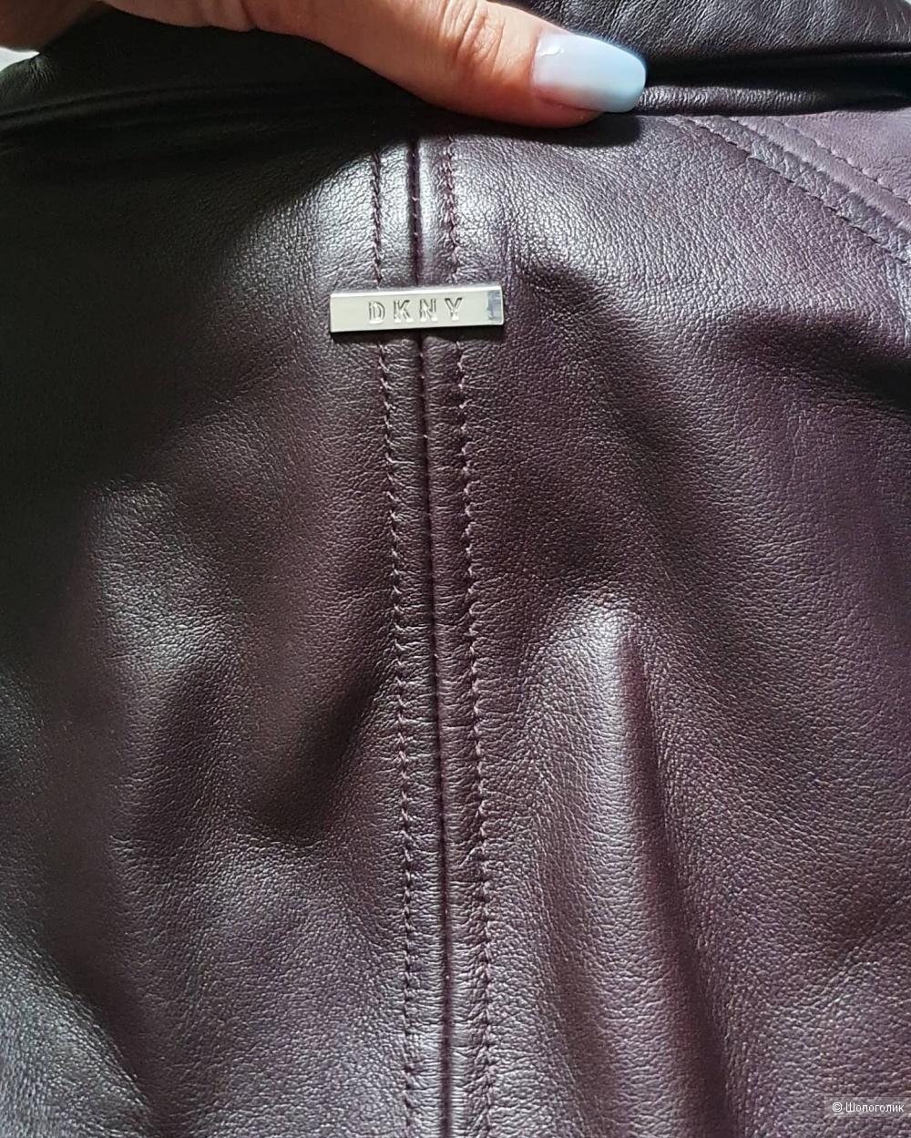 Куртка кожаная DKNY размер S