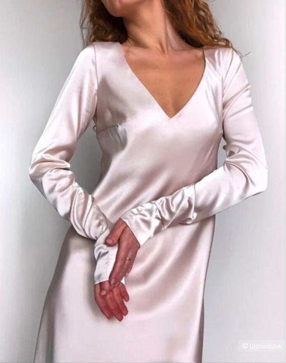 Шелковое платье Studio 314, М
