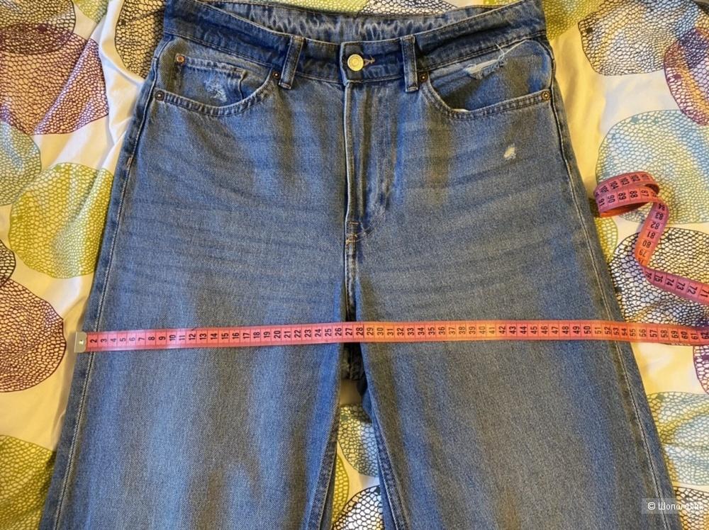 Джинсы H&M Loose Straight High размер EUR 40