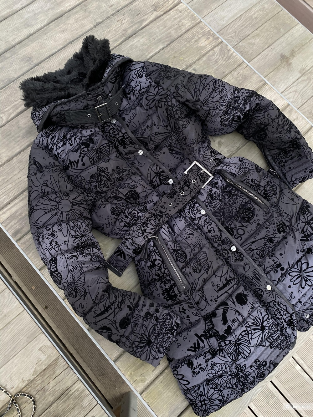 Куртка пальто Desigual, pp 36