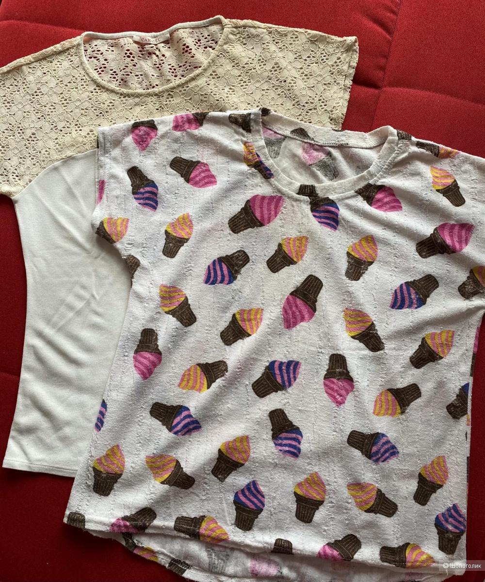 Комплект 2 футболки, размер 44-46