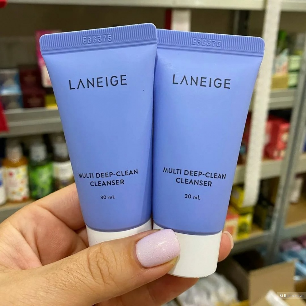 LANEIGE Multi Deep-Clean Cleanser mini Многофункциональная пенка для глубокого очищения кожи 30ml