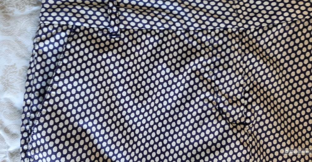 Юбка синяя в белый принт Tommy Hilfiger, 6 на 42-44