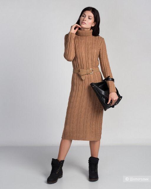 Платье-свитер oversize Incity Инсити. Размер 48