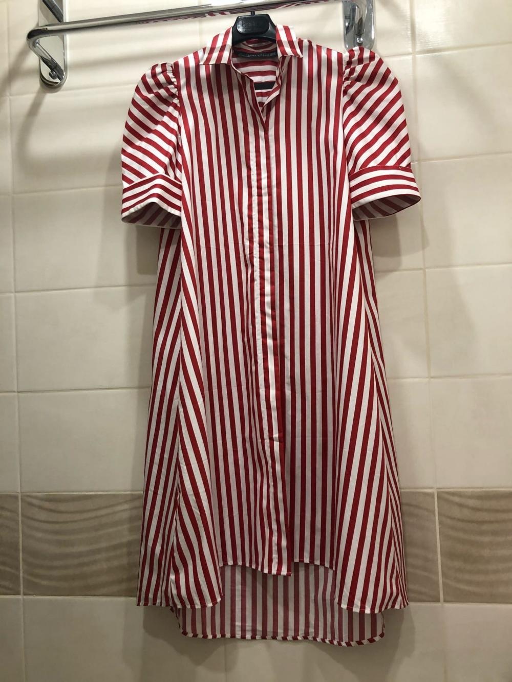 Платье-рубашка ZARA. Размер XS-S.