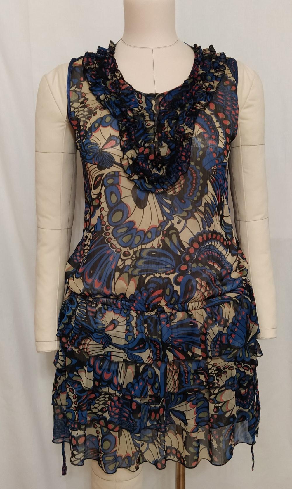 Платье с рюшами,Kira Plastinina, М