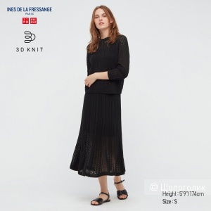 Вязаная юбка Uniqlo IDLF, S