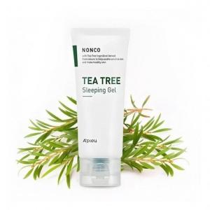 Гель ночной с маслом чайного дерева для проблемной кожи A'PIEU NonCo Tea Tree Sleeping Gel 80ml