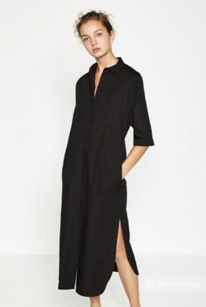 Платье-рубашка zara, размер m